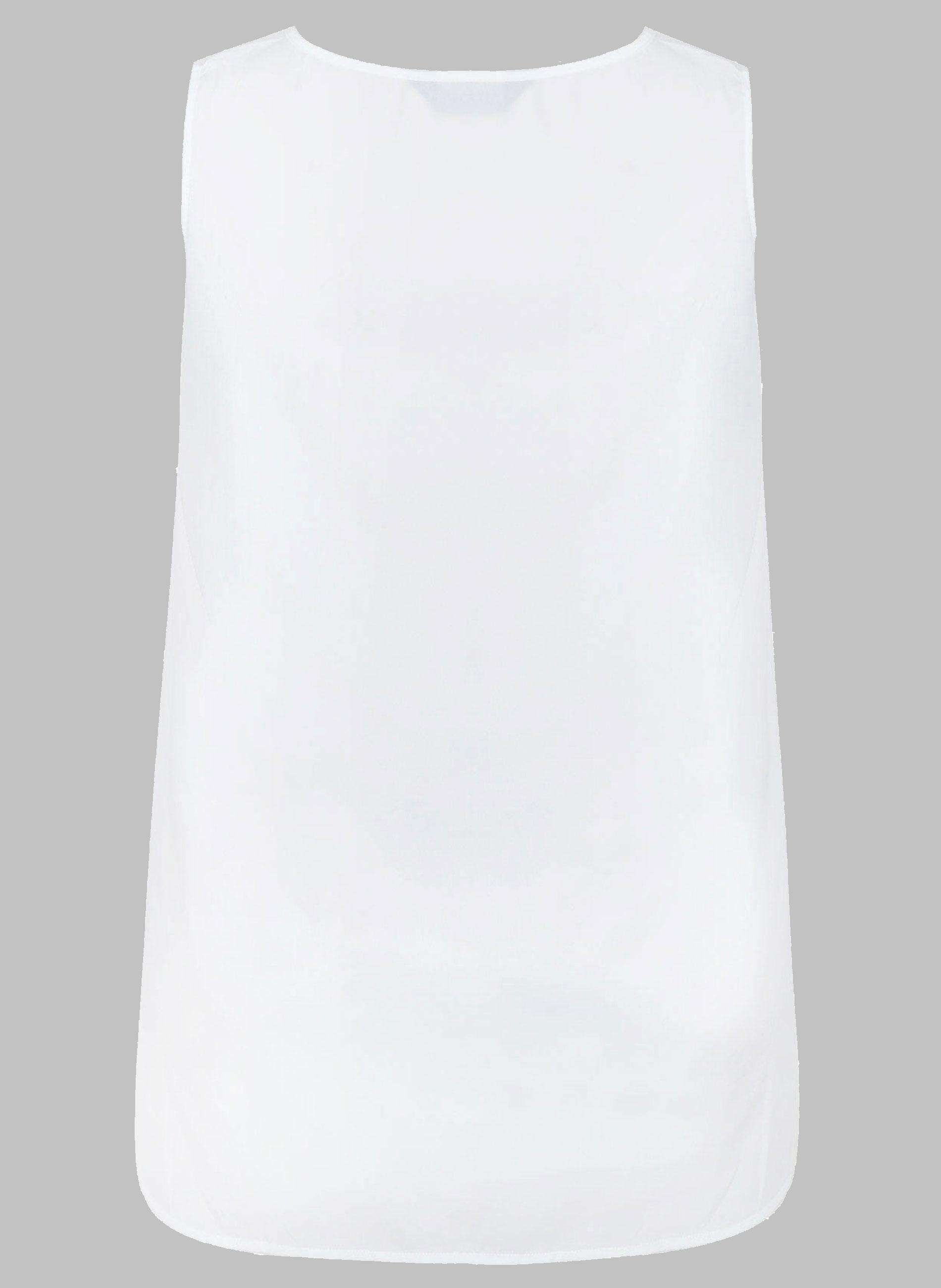 f886078df864 ΠΡΟΣΦΟΡΕΣ    ΜΠΛΟΥΖΕΣ    Άσπρο Τοπ με Ασύμμετρη Πλάτη - Μόδα σε ...