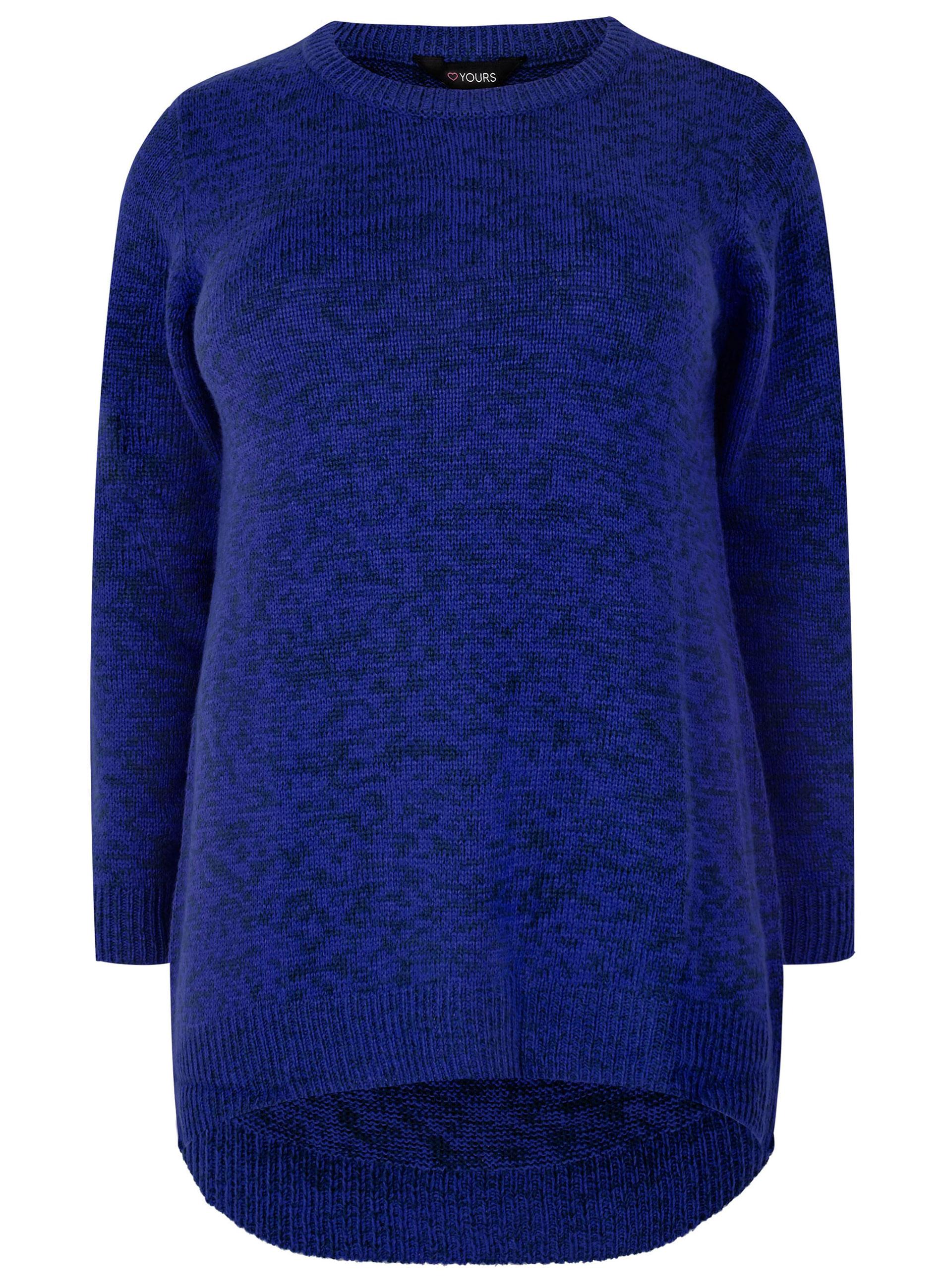 8266b4bad616 ΠΡΟΣΦΟΡΕΣ    ΜΠΛΟΥΖΕΣ    Μπλούζα Πλεκτή σε Μαύρο-Μπλε Χρώμα - Μόδα ...