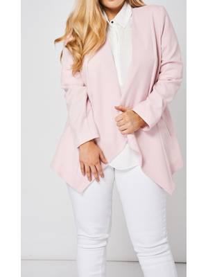 Σακάκι Pink με Φερμουάρ στις Τσέπες magite_pink0860 Maniags