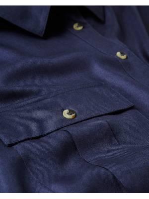 Πουκάμισο Βισκόζης Σκούρο Μπλε TP4020-03 Maniags
