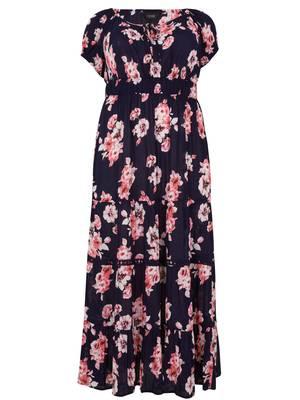 Φόρεμα Μάξι Φλοράλ Maniags