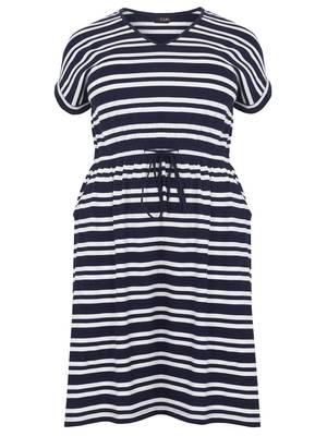 Φόρεμα Μαρινιέρα Βαμβακερό Maniags