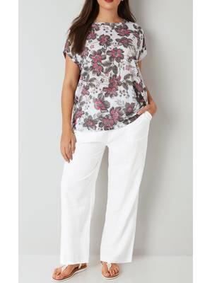 Παντελόνα Λινή Άσπρη White_Linen_Mix_Pull_On_Wide_Leg_Trousers_142178_39f6 Maniags