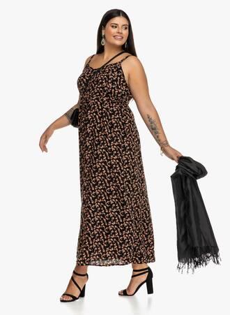 Φλοραλ Φόρεμα Αμάνικο 2019_09_18-Maniags1872 Maniags