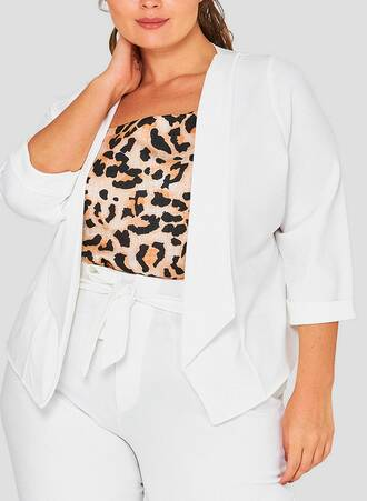 Cami Τοπ Peach Λεοπαρ drape-front-plus-size-wholesale-blazer-cream-1_9ogs-dd Maniags