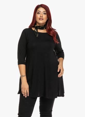 Μπλούζα Μαύρη Jersey 'Yours' Maniags