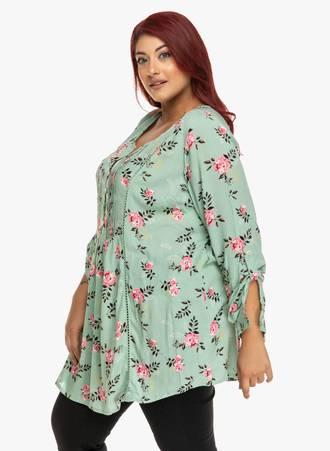 Μπλούζα Φλοράλ με Κουμπιά στο Ντεκολτέ 'Yours' 2019_09_18-Maniags0439_d4h7-4d Maniags