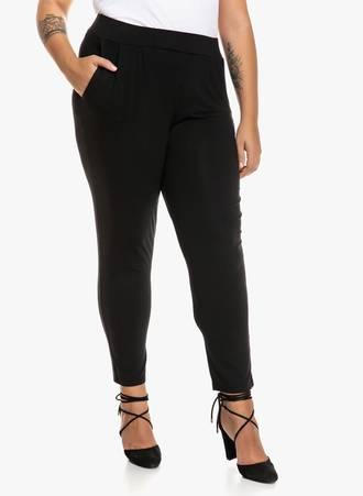 Παντελόνι Μαύρο  Jersey 'Yours' Maniags