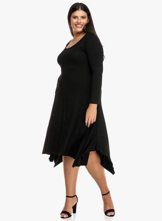 Φόρεμα Μαύρο με Ασυμμετρίες 2019_09_19-Maniags0868 Maniags