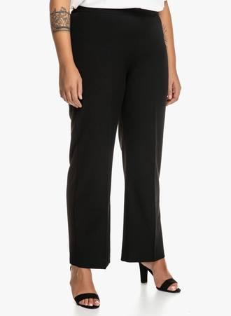 Παντελόνι Μαύρο Straight Leg 'Yours' Maniags