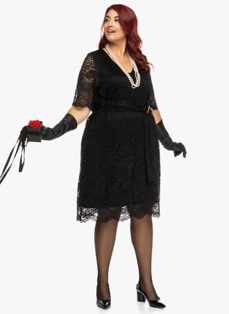 Φόρεμα Μαύρο Δαντέλας 2019_09_20-Maniags3351 Maniags