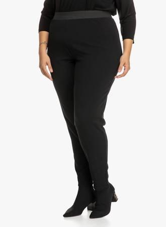 Παντελόνι Μαύρο με Λάστιχο στην Μέση 'Yours' 2019_09_20-Maniags3687 Maniags