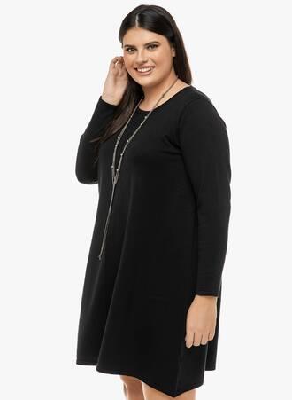 Φόρεμα Μαύρο Λεπτής Πλέξης 2019_12_13-Maniags2345_z70y-io Maniags