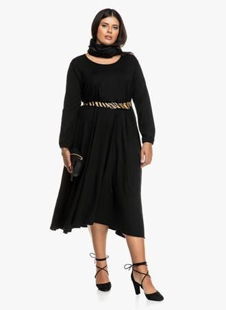 Μαύρο Φόρεμα Μάξι 2019_09_18-Maniags1300 Maniags