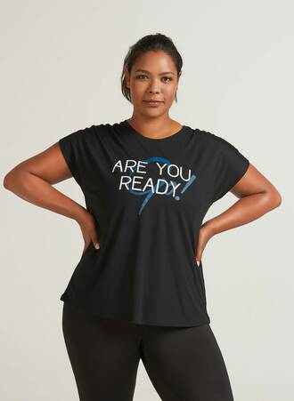 T-shirt Μαύρο με Τύπωμα Άσπρο-Μπλε Maniags