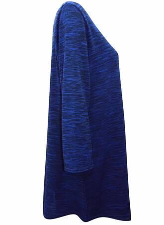 Τουνίκ Jersey Μπλε με Μανίκι 3/4 TP8598-BLUEMIX-03 Maniags