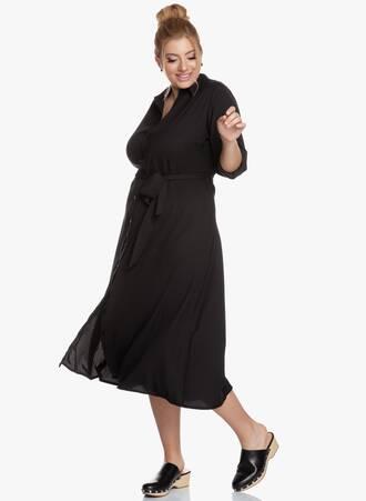 Σεμιζιέ Φόρεμα Midi με Ζωνάκι 2020_05_27_Maniags5079 Maniags