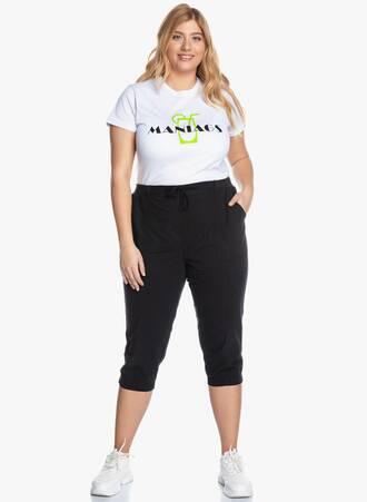 Παντελόνι Κάπρι Μαύρο 'Yours' 2020_05_28_Maniags6678 Maniags