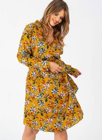 Φόρεμα Μουσταρδί Midi Κρουαζέ Φλοραλ 4252fb252f2252f4252f4b24a095f53f22ec6493e66e03513bdc33743e66_pl4_582_sb_lu55_1_wzrnat Maniags