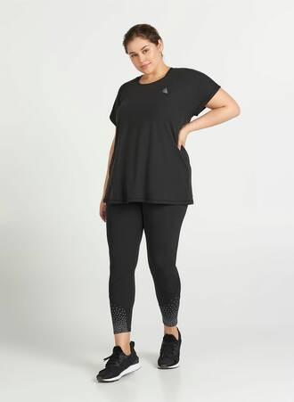 T-shirt Basic Μαύρο Maniags