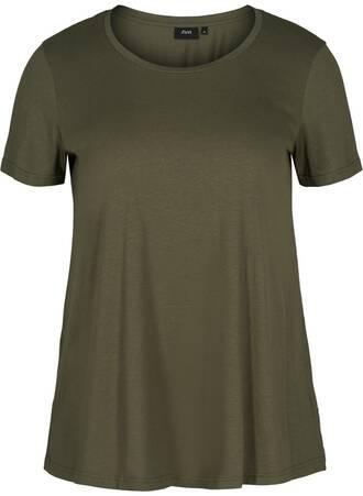 T-shirt Basic Χακί Maniags