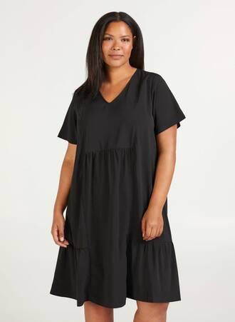 Φόρεμα Μπόχο Μαύρο Maniags
