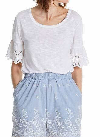 T-shirt Basic Λευκό Maniags