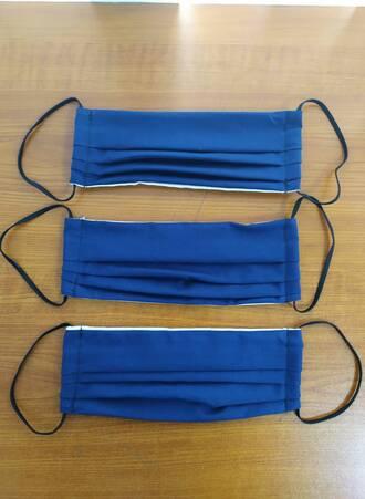 Υφασμάτινες Μάσκες Προστασίας 3 τμχ Navy Maniags