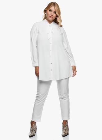 Πουκαμίσα Λευκή Tie Bow 2020_09_15-Maniags3594 Maniags