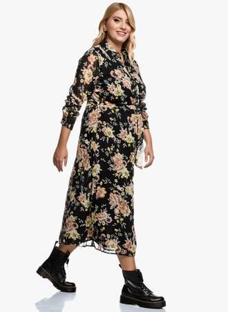 Σεμιζιέ Φόρεμα Φλοράλ 2020_09_15-Maniags3856 Maniags