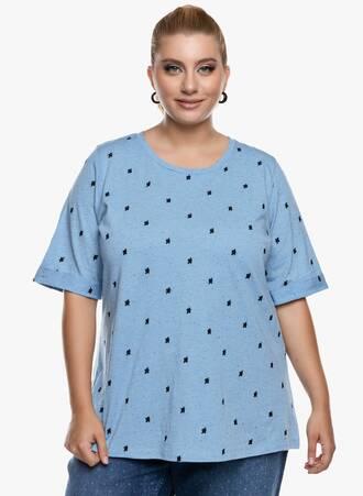 Μπλούζα Ελαφριάς Πλέξης με ιδιαίτερο σχέδιο Maniags
