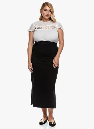 Φούστα Μαύρη Ελαστική Maxi 2020_09_16-Maniags5600 Maniags