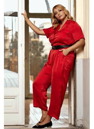 Ολόσωμη Φόρμα Κόκκινη Maniags