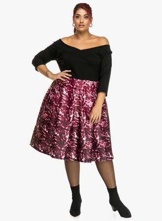 Φόρεμα Έξωμο Μαύρο-Φλοράλ 2019_09_20-Maniags3580 Maniags
