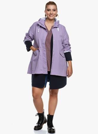 Μπουφάν Λιλά Λεπτό Αδιάβροχο με Κουκούλα 2020_09_16-Maniags4845 Maniags