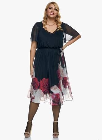 Midi Φόρεμα Φλοράλ Maniags