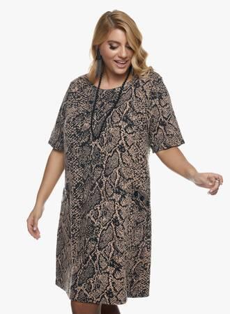 Φόρεμα Snake Print 2020_11_02_Maniags_1068 Maniags