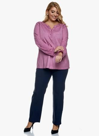 Βαμβακερή Μπλούζα Ροζ Μακρυμάνικη 2020_11_02_Maniags_1975 Maniags