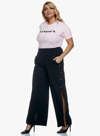 Μαύρη Παντελόνα με Άνοιγμα στο Πλάι 2020_11_02_Maniags_2105 Maniags