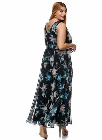 Φόρεμα Μάξι Αμάνικο Φλοράλ 2021_01_25-Maniags0370 Maniags