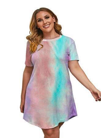 Νυχτικό Πολύχρωμο Tie Dye Maniags