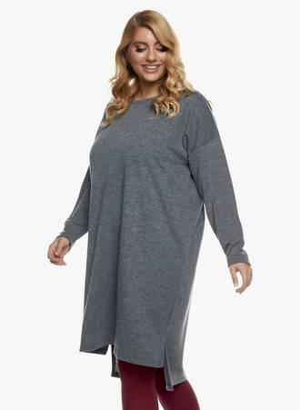 Πλεκτό Φόρεμα Midi Γκρι 2020_11_02_Maniags_1270 Maniags