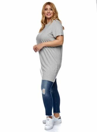 Βαμβακερό Μακρύ T-shirt Γκρι 2021_01_25-Maniags1197 Maniags