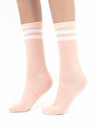 Κάλτσες Παστέλ με Ρίγα 3 Τεμαχίων Maniags