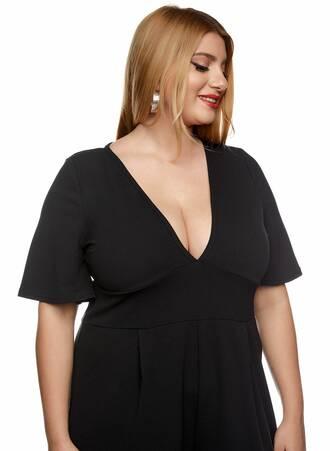 Ολόσωμη Φόρμα Μαύρη με Angel Sleeve 2021_01_25-Maniags0120 Maniags