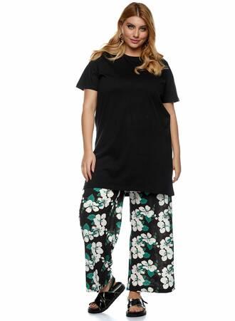 Βαμβακερό Μακρύ T-shirt Μαύρο 2021_01_25-Maniags1543 Maniags