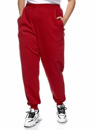Παντελόνι Φόρμα Κόκκινη με Φλις Επένδυση Maniags