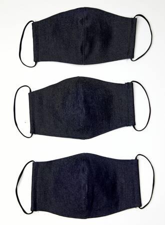Υφασμάτινες Μάσκες Προστασίας 3 τμχ Τζιν 2021_01_25-Maniags2971 Maniags