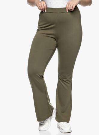Ελαστικό Παντελόνι Jersey Καμπάνα Ivy Green Maniags