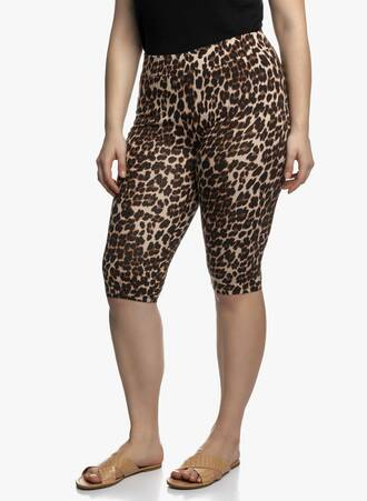 Biker Shorts Animal Print Maniags
